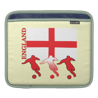 English Soccer Players Sleeve For iPads