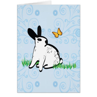 ENGLISH SPOTS IN THE GRASS CARD