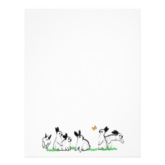 ENGLISH SPOTS IN THE GRASS PERSONALIZED LETTERHEAD