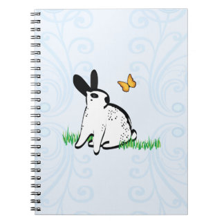 ENGLISH SPOTS IN THE GRASS SPIRAL NOTE BOOK