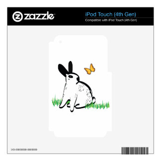 ENGLISH SPOTS! iPod TOUCH 4G SKIN