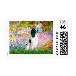 English Springer 7 - Garden Postage Stamps