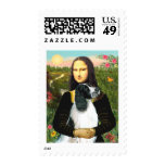 English Springer 7 - Mona Lisa Postage