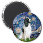 English Springer 7 - Starry Night Magnets