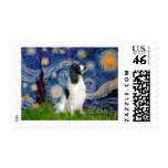 English Springer 7 - Starry Night Postage Stamps