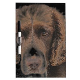 English Springer Dogs Dry Erase Board