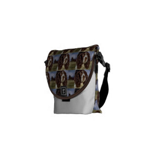 English Springer Spaniel Art Courier Bag