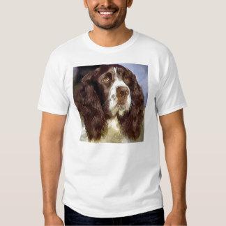 English Springer Spaniel Art Gifts Apparel T-Shirt