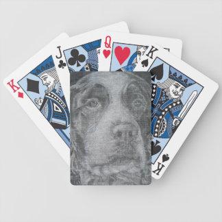 English Springer Spaniel Bicycle Playing Cards