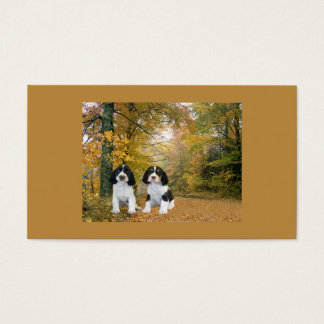 English Springer Spaniel Breeder Business Card