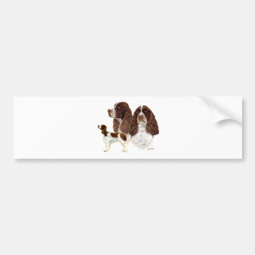English Springer Spaniel Bumper Sticker