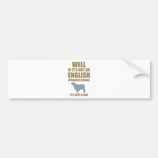 English Springer Spaniel Bumper Stickers