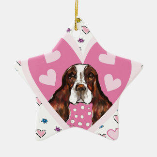 ENGLISH SPRINGER SPANIEL CERAMIC ORNAMENT