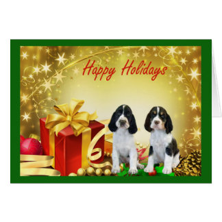 English Springer Spaniel Christmas Card Gifts