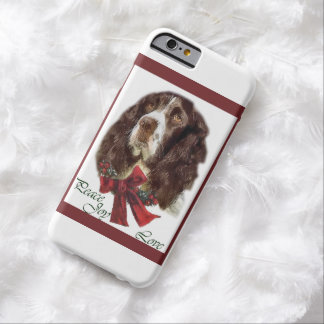 English Springer Spaniel Christmas Barely There iPhone 6 Case