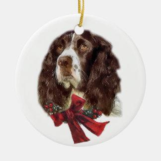 English Springer Spaniel Christmas Ornaments