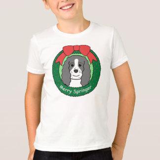 English Springer Spaniel Christmas T-Shirt