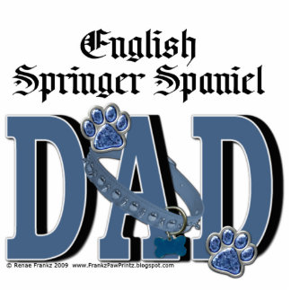 English Springer Spaniel DAD Photo Cut Out