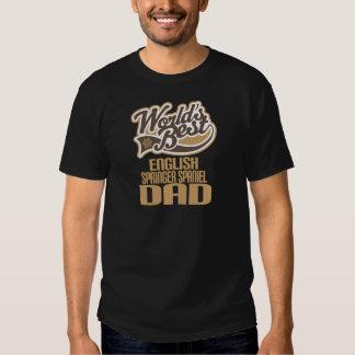 English Springer Spaniel Dad (Worlds Best) T Shirt