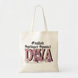 English Springer Spaniel DIVA Budget Tote Bag