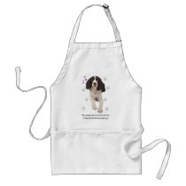 English Springer Spaniel Dog Adult Apron