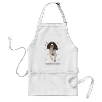 English Springer Spaniel Dog Adult Apron