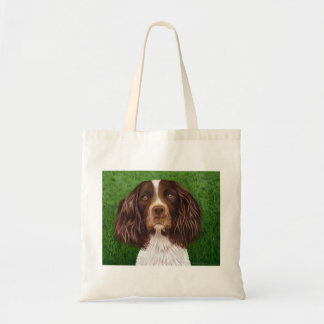English Springer Spaniel Dog Art - Major Tote Bag