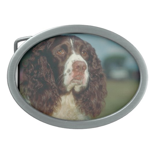 English Springer Spaniel Dog Belt Buckle