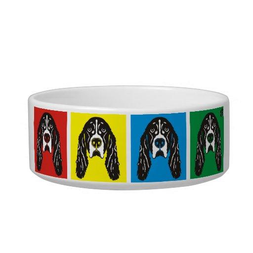 English Springer Spaniel Dog Bowl PawsID