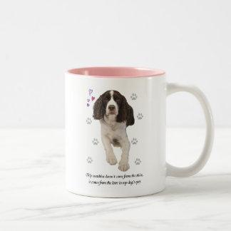 English Springer Spaniel Dog Coffee Mugs