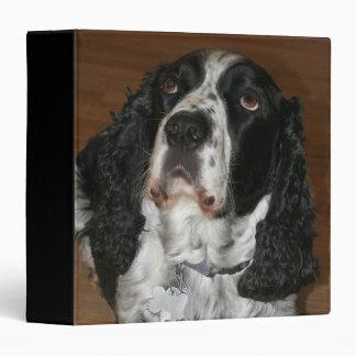 English Springer Spaniel Dog Photo Binder