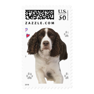 English Springer Spaniel Dog Postage