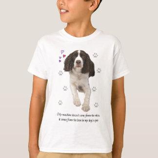 English Springer Spaniel Dog T-Shirt