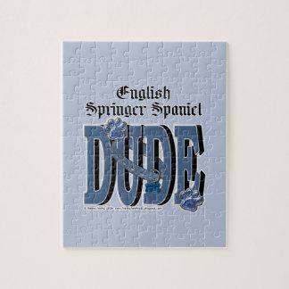 English Springer Spaniel DUDE Jigsaw Puzzle
