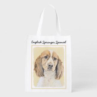 English Springer Spaniel Grocery Bag