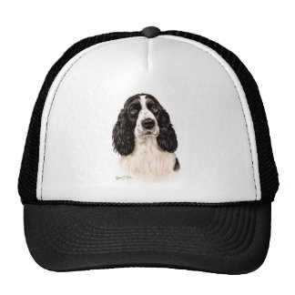 English Springer Spaniel Mesh Hats