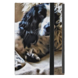 Powis iCase iPad Mini Case with Kickstand with Springer Spaniel Phone Cases design