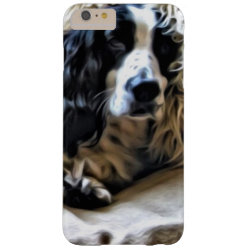 Case-Mate Barely There iPhone 6 Plus Case with Springer Spaniel Phone Cases design