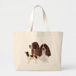 English Springer Spaniel Large Tote Bag