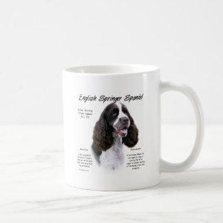 English Springer Spaniel (liver) History Design Coffee Mug