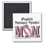 English Springer Spaniel MOM 2 Inch Square Magnet