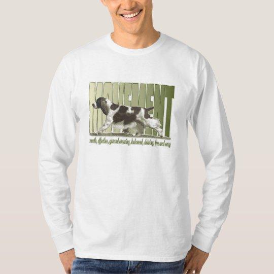 English Springer Spaniel Movement T-Shirt