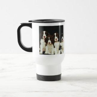 English Springer Spaniel Puppies (2) Travel Mug