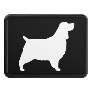 English Springer Spaniel Silhouette Trailer Hitch Covers