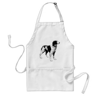 English Springer Spaniel  Sporting Pets Dogs Adult Apron