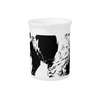 English Springer Spaniel  Sporting Pets Dogs Beverage Pitchers