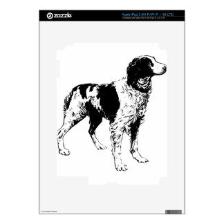 English Springer Spaniel  Sporting Pets Dogs Decal For iPad 3