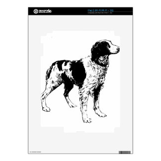 English Springer Spaniel  Sporting Pets Dogs Decal For The iPad 2