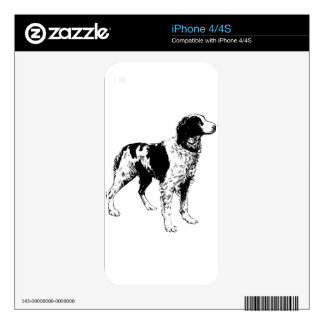 English Springer Spaniel  Sporting Pets Dogs iPhone 4 Decal