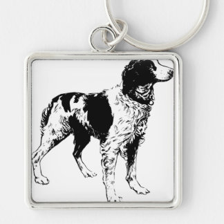 English Springer Spaniel  Sporting Pets Dogs Keychain